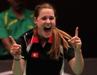 Switzerland Fight Back From Brink - Day 6: Sudirman Cup 2013