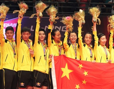 'Fine Nine' – Rampant China Retain Title – Final: Sudirman Cup 2013