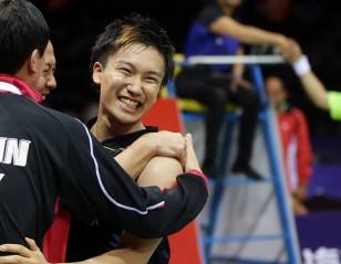 Li-Ning BWF Thomas & Uber Cup Finals 2014 – Day 6 – Session 1: Japan Shock China
