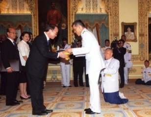 'Exceptional Contribution' to Badminton by Thai King