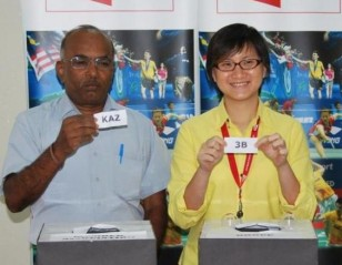 Kazakhstan, Philippines Redrawn in Group 3: Li Ning BWF Sudirman Cup 2013