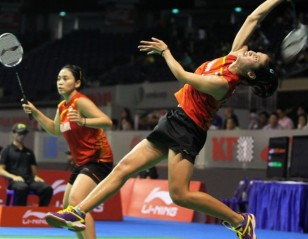 Singapore Open 2013 – Day 4: China Suffers Twin Blows in Women's Doubles