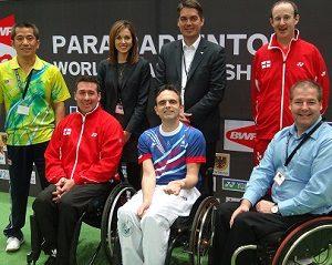 BWF Para-Badminton Athletes' Commission Elected