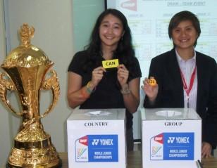 BWF World Juniors 2012: Suhandinata Cup Pits China Versus England and Sri Lanka