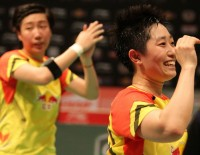 China's 'Girl Power' Withstands Indonesia - Day 5: Sudirman Cup 2013