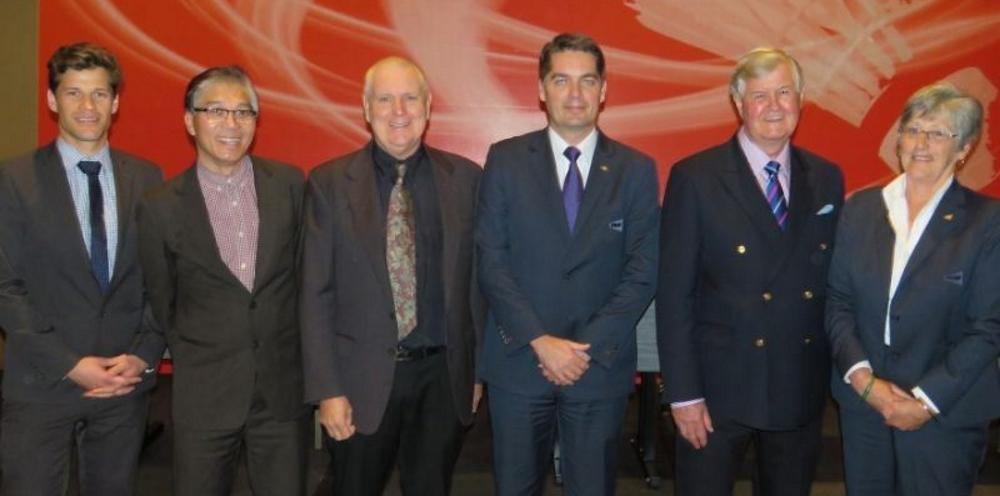 Gold Coast delegation