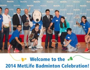 MetLife Uses Badminton to Teach Life Skills
