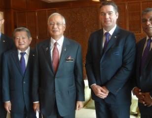 BWF President Meets Malaysia PM
