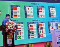 China Grouped with Germany, Thailand: Vivo BWF Sudirman Cup 2015 – Draw Ceremony