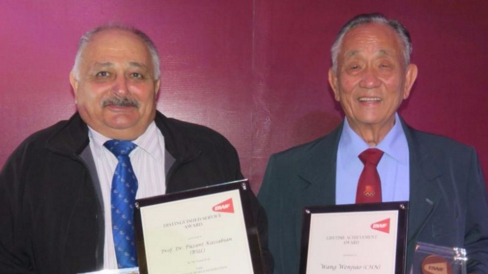 Puzant Kassabian and Wang Wen Jiao
