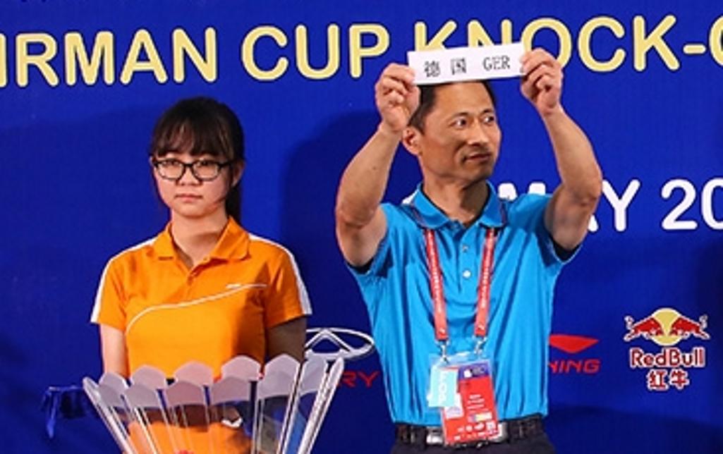 Sudirman Cup draw