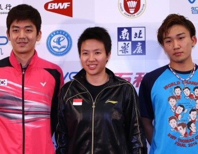 Momota Sets Sights on Vivo BWF Sudirman Cup