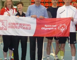 Badminton Boost for Special Olympics