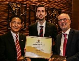 BWF Gets 'Sustainability' Award