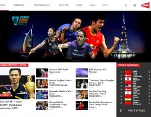 BWF Launches Fan-tastic New Badminton Websites