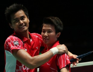 Ahmad/ Natsir Confident of Shaking Off Slump