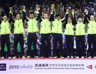 China Get Top Billing – TOTAL BWF Sudirman Cup 2017