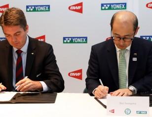 BWF and Yonex Seal 'Major Events' Deal