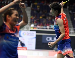 Contrasting Fortunes – Day 4: OUE Singapore Open 2017