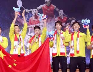 Title No.10 for China – Thomas Cup Final: TOTAL BWF Thomas & Uber Cup Finals 2018
