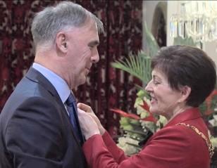 New Zealand Honour for Nigel Skelt