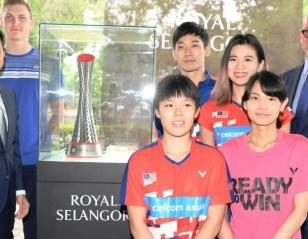 BWF and Royal Selangor in Trophy Partnership