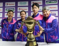 Final Preparations on Sudirman Cup Eve