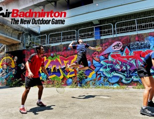 AirBadminton – The New Outdoor Game
