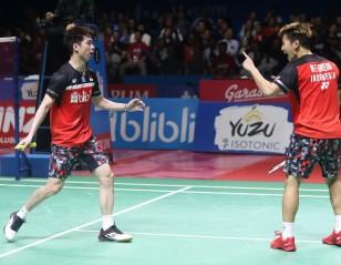 'Minions' Blast 'Daddies' – Indonesia Open: Day 6