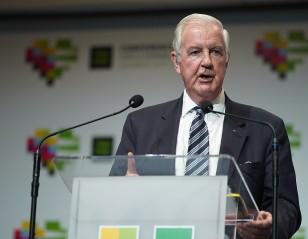Sir Craig Reedie Honoured in Katowice