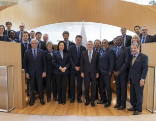 BWF Council Welcomed at Olympic House