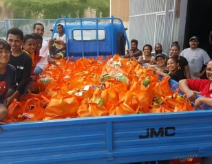 Food for Needy: PNG Badminton Community Steps Up
