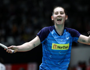 Happy Gilmour Eager to Give Back to Badminton