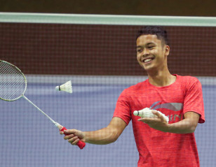'Great to be Back Playing Badminton'