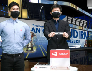 Sudirman Cup: China Drawn With Thailand, Finland, India