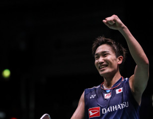 Momota Strikes Big in Japan's Victory Over Malaysia