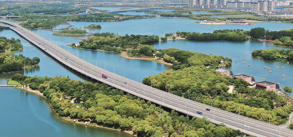 Suzhou Huqiu Wetland Park
